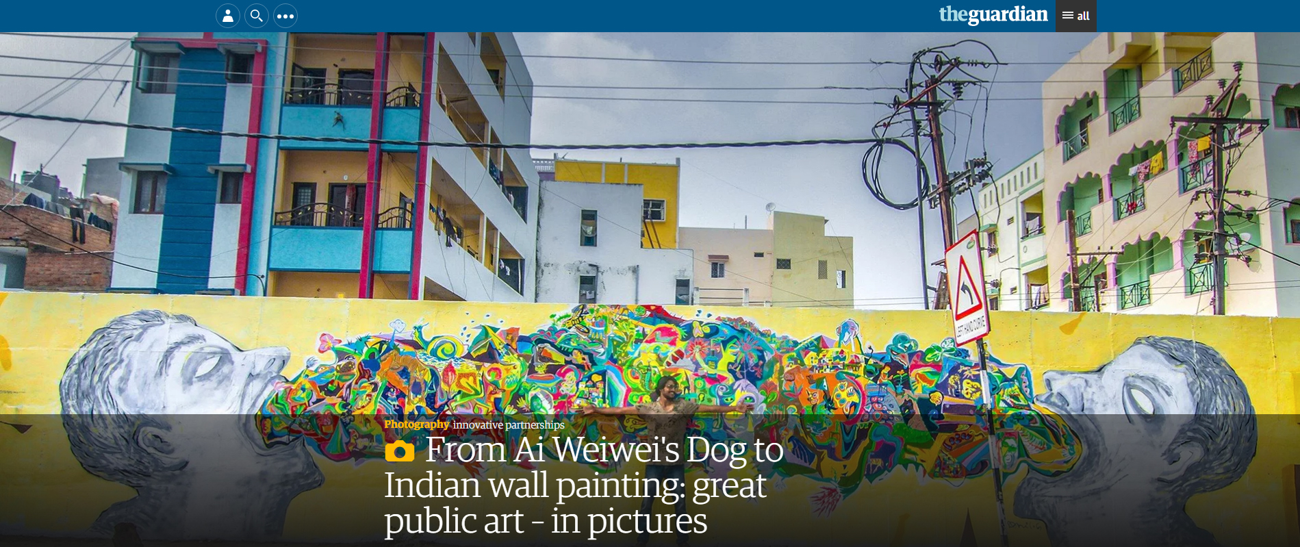 Guardian article image of great public art