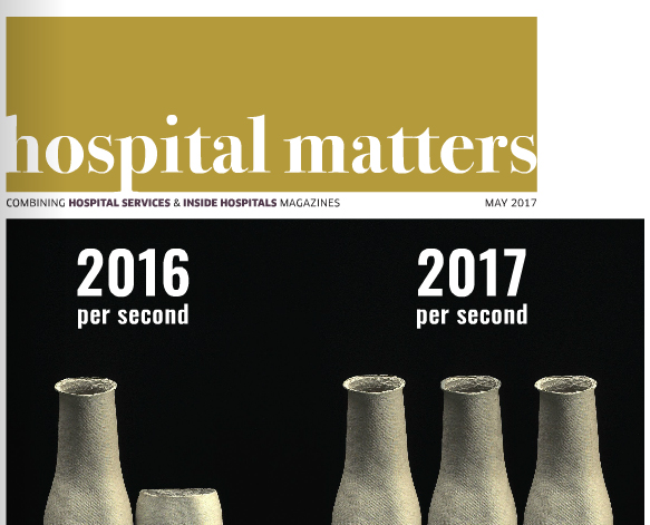 Cover of Hospital Matters magazine