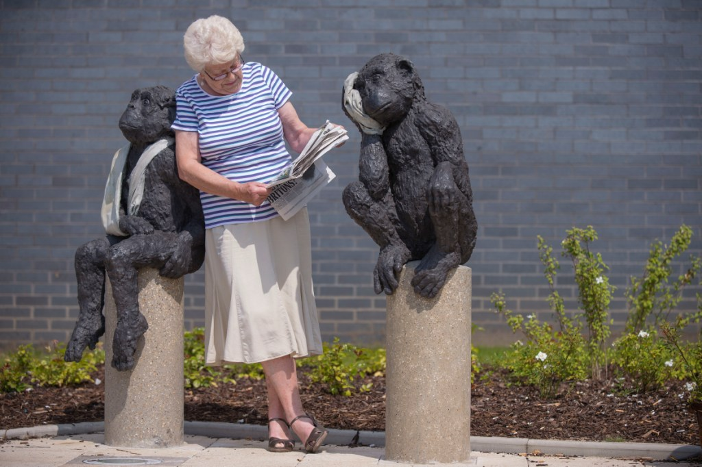Art at Southmead Hospital, Laura Ford's Landmark Sculptures